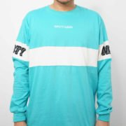 Ocean Sunset Turquoise-White Front