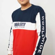 Moving Fast Navy-White-Red Side